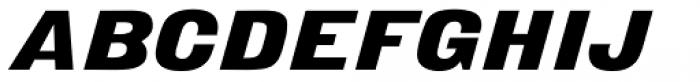 Derek Italic Font UPPERCASE