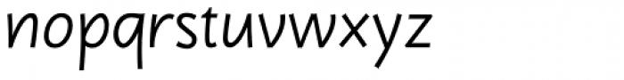 Dereza Light Font LOWERCASE