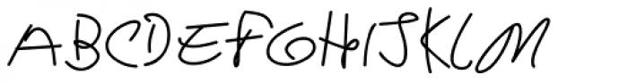 Deriva Font UPPERCASE