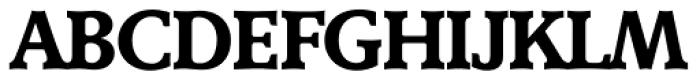 Derringer Serial Bold Font UPPERCASE