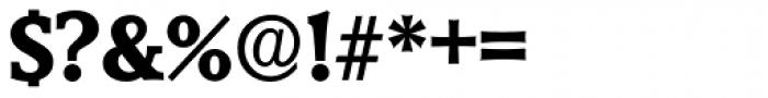 Derringer Serial ExtraBold Font OTHER CHARS