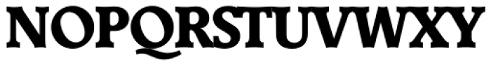 Derringer Serial ExtraBold Font UPPERCASE