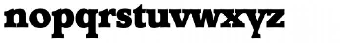 Derringer Serial Heavy Font LOWERCASE