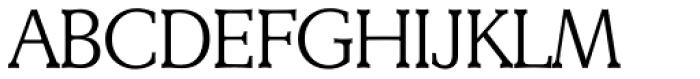 Derringer Serial Light Font UPPERCASE