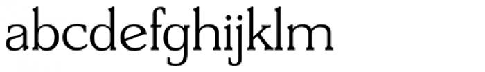 Derringer Serial Light Font LOWERCASE