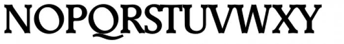 Derringer Serial Medium Font UPPERCASE