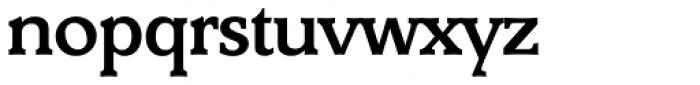 Derringer Serial Medium Font LOWERCASE