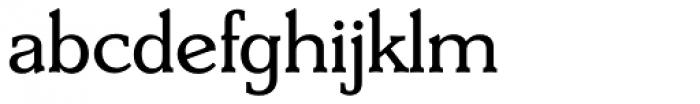 Derringer Serial Font LOWERCASE