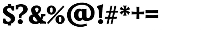 Derringer TS Bold Font OTHER CHARS