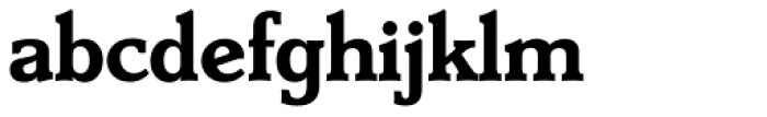 Derringer TS DemiBold Font LOWERCASE
