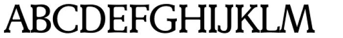 Derringer TS Regular Font UPPERCASE