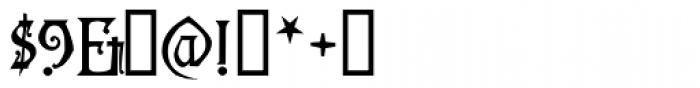 Descant Font OTHER CHARS