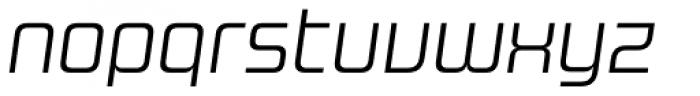 Design System B 300 Italic Font LOWERCASE