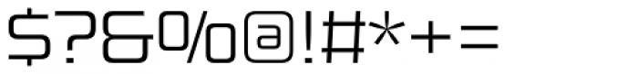 Design System B 300 Font OTHER CHARS
