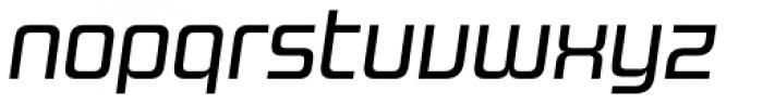 Design System B 500 Italic Font LOWERCASE