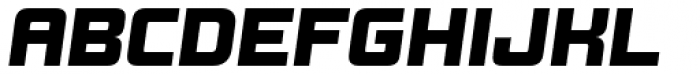 Design System B 900 Italic Font UPPERCASE