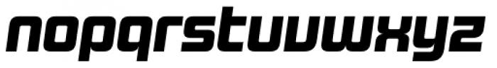 Design System B 900 Italic Font LOWERCASE
