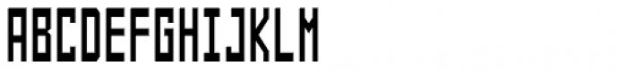 Designator Condensed Font UPPERCASE