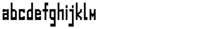 Designator Condensed Font LOWERCASE