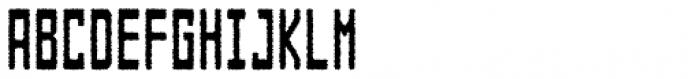 Designator Rough Condensed Font UPPERCASE