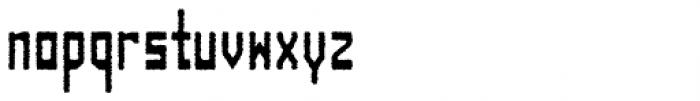 Designator Rough Condensed Font LOWERCASE