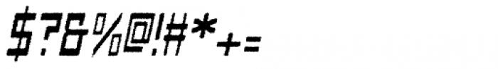 Designator Rough Italic Font OTHER CHARS