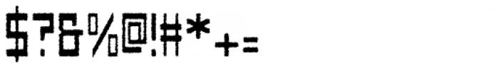 Designator Rough Font OTHER CHARS