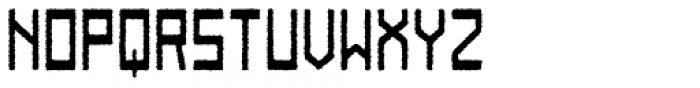 Designator Rough Font UPPERCASE