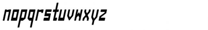 Designator Rounded Condensed Italic Font LOWERCASE