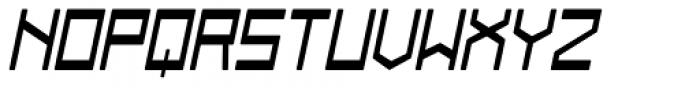 Designator Rounded Wide Italic Font UPPERCASE