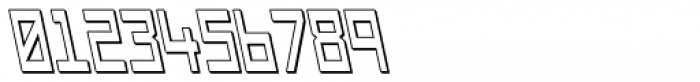 Designator Shadow Backslant Font OTHER CHARS
