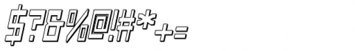 Designator Shadow Italic Font OTHER CHARS