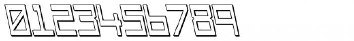 Designator Shadow Wide Backslant Font OTHER CHARS