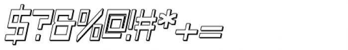 Designator Shadow Wide Italic Font OTHER CHARS