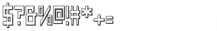 Designator Shadow Font OTHER CHARS