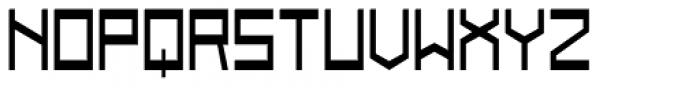 Designator Wide Font UPPERCASE