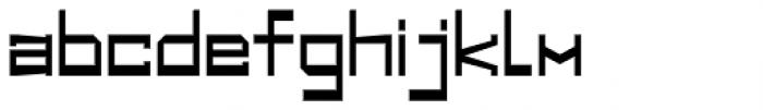 Designator Wide Font LOWERCASE