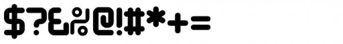 Designer Block Font OTHER CHARS