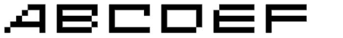 Designer Genes Seven Font UPPERCASE