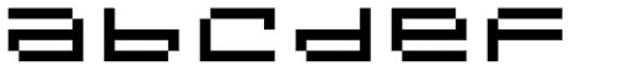 Designer Genes Seven Font LOWERCASE