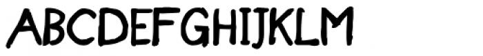 Designer Notes Pro Bold Font UPPERCASE