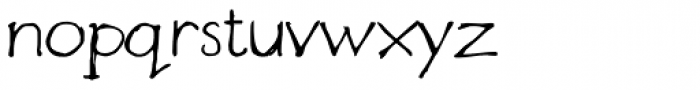 Designer Notes Pro Font LOWERCASE