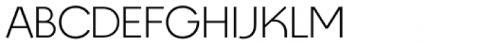 Designers Gothic Light Font UPPERCASE