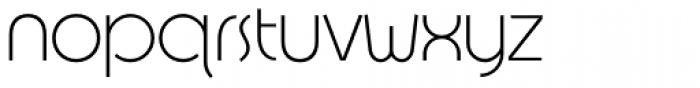Designers Gothic Light Font LOWERCASE