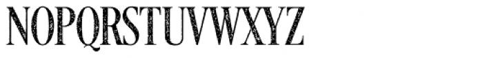 Desire Ragged C Font UPPERCASE