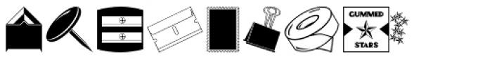 Desk Drawer JNL Font UPPERCASE
