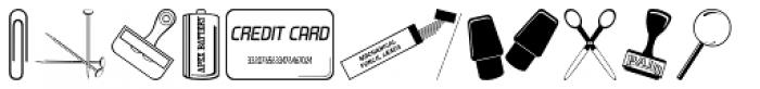 Desk Drawer JNL Font LOWERCASE