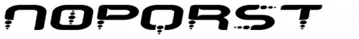 Despair 2003 Wider Italic Font UPPERCASE