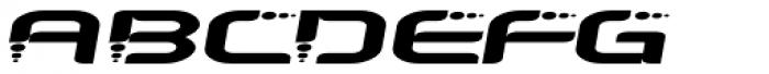 Despair 2003 Wider Italic Font LOWERCASE