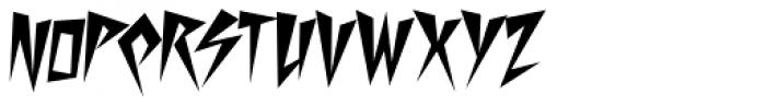 Desperate Font LOWERCASE